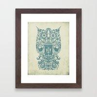 The Old Owl - Vintage Ed… Framed Art Print