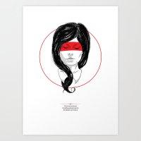 Whispers & Tongue Art Print