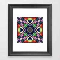 Textured Balance Of Colo… Framed Art Print