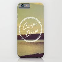 iPhone & iPod Case featuring Carpe Diem  by Rachel Burbee