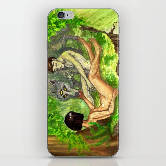 """The Haunted Man"" by Virginia McCarthy & Cap Blackard iPhone & iPod Skin"