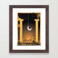 Great beauty by night Framed Art Print