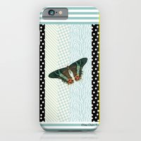 Mint Butterfly iPhone 6 Slim Case