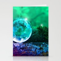 COLLECTION »CRYSTAL BAL… Stationery Cards