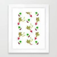 Veggie Fun Framed Art Print