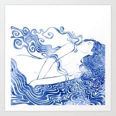 Water Nymph LXVII Art Print