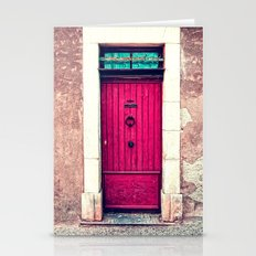 door to my heart Stationery Cards