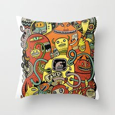 Warm in Throw Pillow
