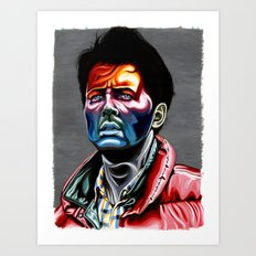 Marty Mcfly Art Print