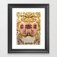 The Royals By Alex Garan… Framed Art Print