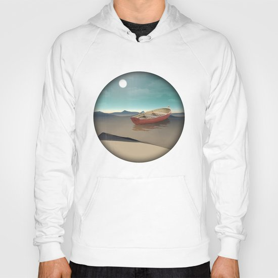 at sea in a void Hoody