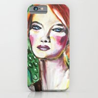 VanGogh Girl iPhone 6 Slim Case