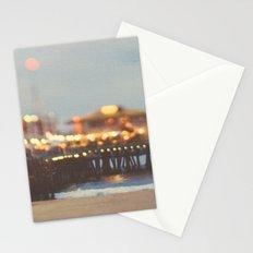 Beach Candy. Santa Monica pier photograph Stationery Cards