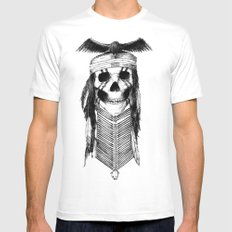 Tonto SMALL Mens Fitted Tee White