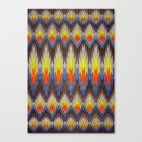 rapid fire Canvas Print
