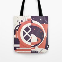 Astronautical: The Final Frontiers Tote Bag