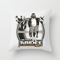 The Force Abides Throw Pillow