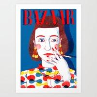 Diana Vreeland Art Print