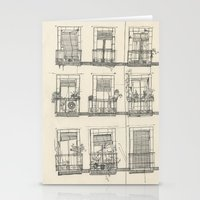 View From The Balcony Stationery Cards