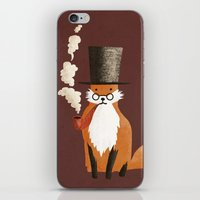 Fancy Fox iPhone & iPod Skin