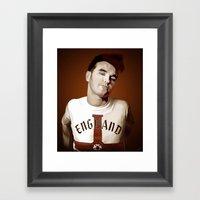 The Smiths Singer Framed Art Print