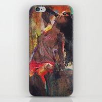 Fences Abstract Portrait iPhone & iPod Skin