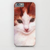Copper kitten iPhone 6 Slim Case