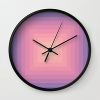 Colour Field V.3 Wall Clock