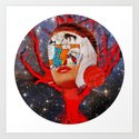 A dream for a lifetime · Silva & the universe · Crop Circle Art Print