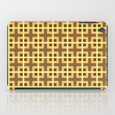 Pattern Yellow iPad Case