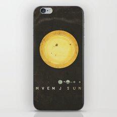 Planetary Arrangement iPhone & iPod Skin