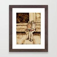 Weekend Together Framed Art Print