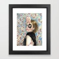 Beth's Lovers Eye Framed Art Print