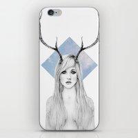 La Belle Degout iPhone & iPod Skin