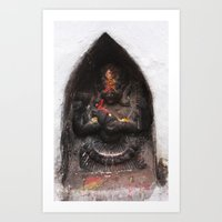 Bodhinath Shrine - 6 of 6 Art Print