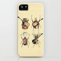 iPhone Cases featuring Meet the Beetles by Eric Fan