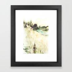 Wild Wolves Framed Art Print