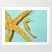 My little bit of ocean Art Print