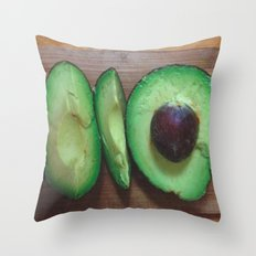 Avocado Love (2) Throw Pillow