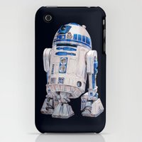 iPhone 3Gs & iPhone 3G Cases featuring R2 D2 - Star Wars by whiterabbitart