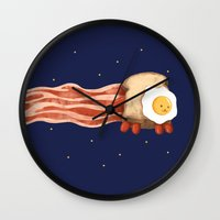 Nyan Bacon Wall Clock