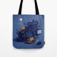 Movie Break Tote Bag