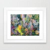 #Trees Framed Art Print