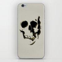 skull #06 iPhone & iPod Skin