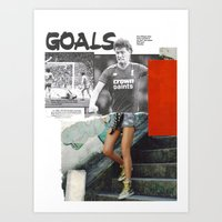 Football Fashion #16 Art Print