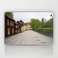 Stockholm, Sweden Old Streets Laptop & iPad Skin