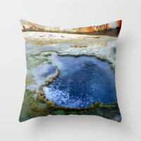 Boiling Throw Pillow