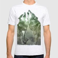 Wolves Mens Fitted Tee Ash Grey SMALL