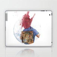 Anti-Portrait with Vinyl The Streets Original Pirate Material Laptop & iPad Skin