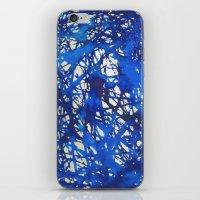 Tangled in Blue iPhone & iPod Skin